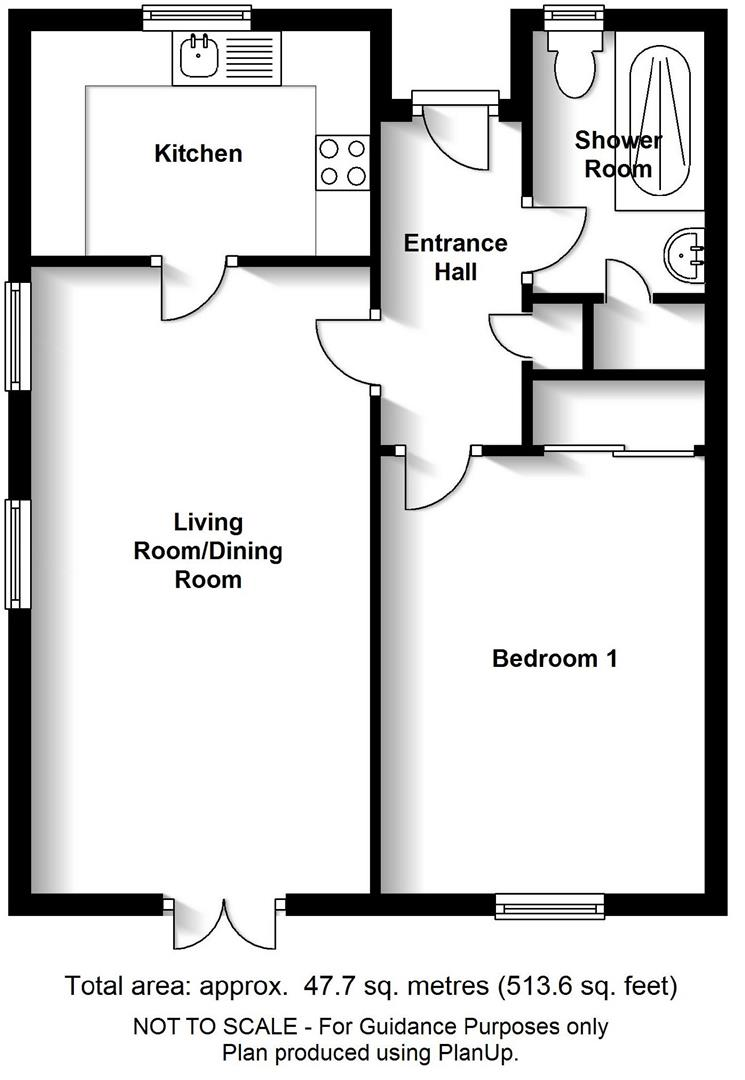 Floor plan Morley Court, Baldock Way, Cambridge